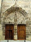Puerta del Ángel (acceso al claustro), lado norte