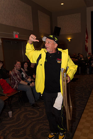 Bill Alfonso - Bill Alfonso making his entrance a show in March 2013