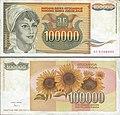 Billete de cien mil dinares yugoslavos.jpg