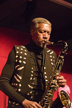 Billy Harper performing at the Jazz Standard in 2007.}