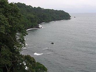 Bioko - Coastline of Bioko