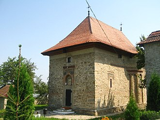 Siret - Holy Trinity Church (1352), one of the oldest in Romania