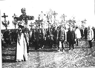 Black Hundreds - A Black Hundred procession, 1907