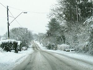 Black Lion Road after freak snowfall - geograph.org.uk - 337115.jpg