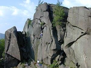 Black Rocks (Derbyshire) - View