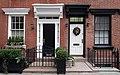 Black and white doorways, West 11th Street, Greenwich Village, New York - Flickr - Spencer Means.jpg