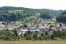 Blick nach Südwesten über Dorfzentrum Gränichen.jpg