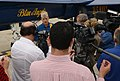 Blue Angels commanding officer conducts news conference. (8636663307).jpg