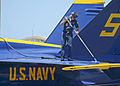 Blue Angels crew chief washes aircraft 130514-N-SN160-033.jpg
