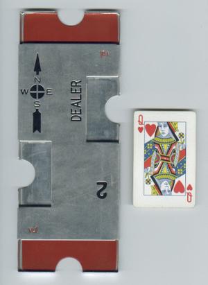 Board (bridge) - Rectangular aluminum board