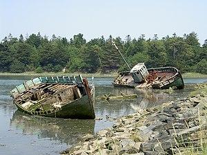 Ship graveyard - Ship graveyard