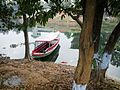 Boat in the bank of rangamati.jpg