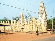 Mosque in Bobo-Dioulasso, Burkina Faso