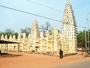 Religion in Burkina Faso - Mosque in Bobo-Dioulasso, Burkina Faso