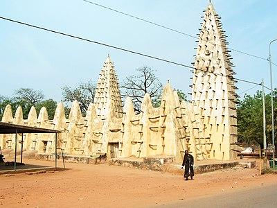 Mezquita en Bobo-Dioulasso