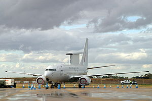 A RAAF Boeing 737 AEW&C aircraft in 2009