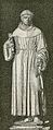 Bologna basilica di San Petronio Statua di Sant'Antonio da Padova xilografia.jpg