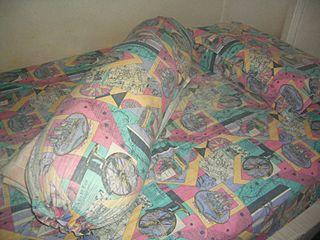 Bolster long narrow pillow or cushion