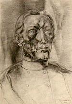 Zsigmond Attila Bolyai-képe (Bolyai-múzeum, Marosvásárhely)