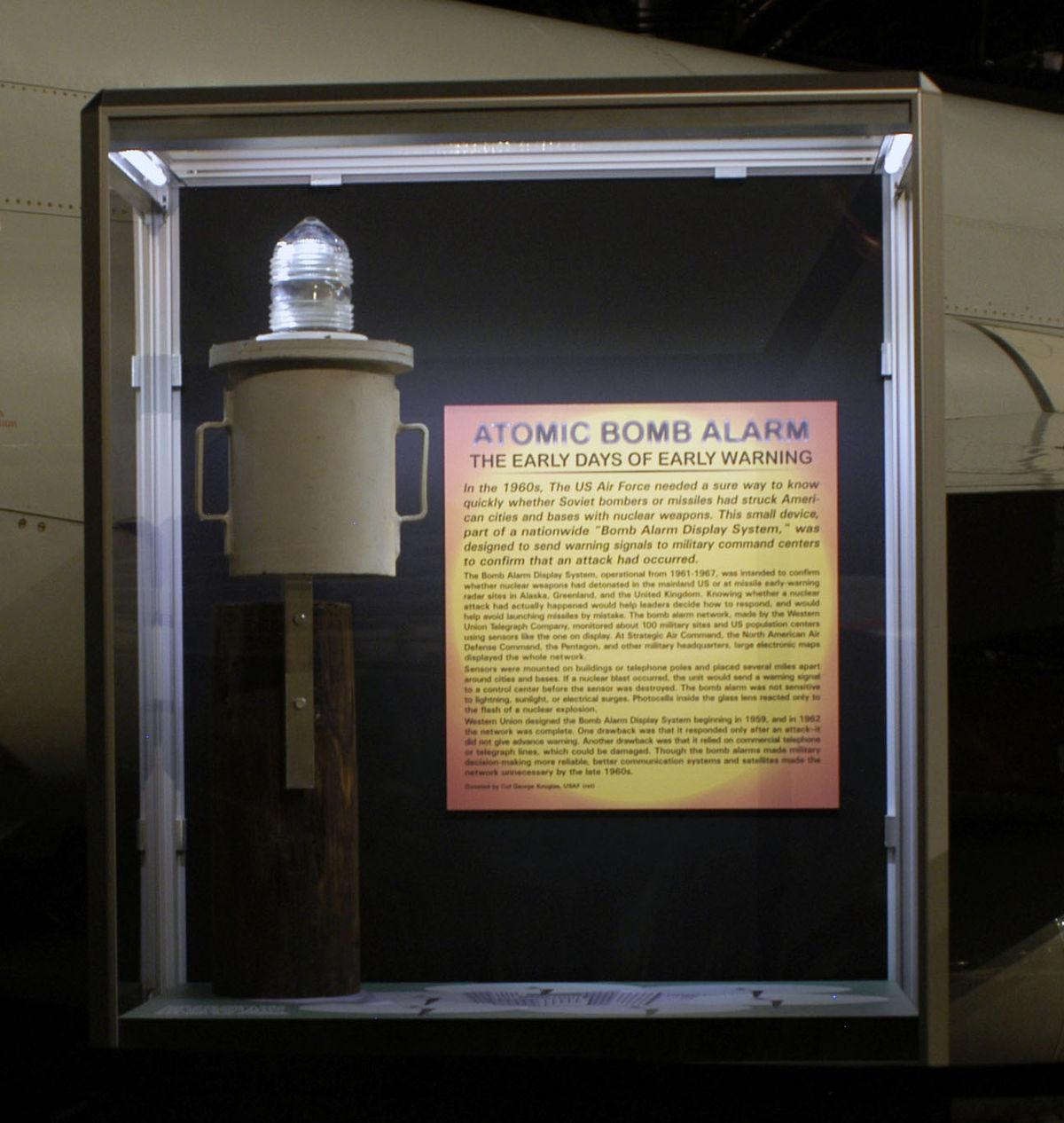 Bomb Alarm System Wikipedia