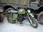 Bombardier motorcycle , NELSAM, 27 June 2015.JPG