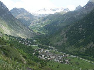 Bonneval-sur-Arc Commune in Auvergne-Rhône-Alpes, France