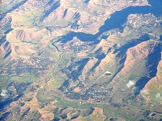 Bonnie Doon, Victoria - Aerial photo