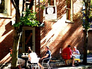 The Short North - Al fresco dining in the Short North