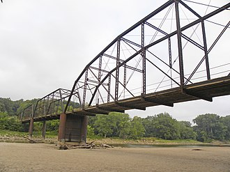 National Register of Historic Places listings in Boone County, Iowa - Image: Boone Bridge 2