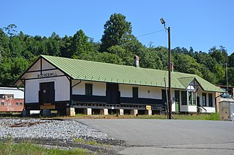 National Register of Historic Places listings in Franklin County, Virginia - Image: Boones Mill Depot