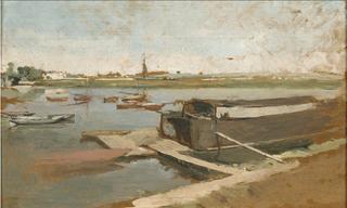 Bords de la Seine à Poissy
