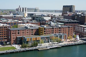 Boston Children's Museum - The Boston Children's Museum, on Children's Wharf