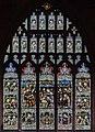 Bottesford, St Mary's church, S. transept window (28124789000).jpg