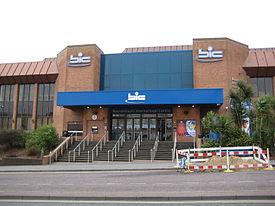 Exterior of the Bournemouth International Centre, April 2008