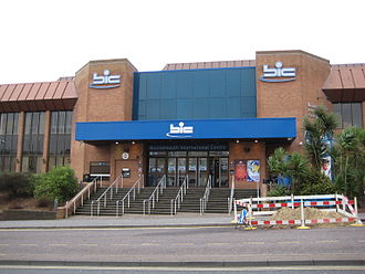 Bournemouth International Centre (BIC) is a national conference and music venue in the town. BournemouthIC.jpg