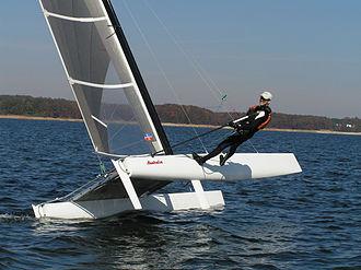 International A-class catamaran - The A-Class Catamaran