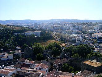 Bragança, Portugal - Bragança seen from the Castle of Bragança