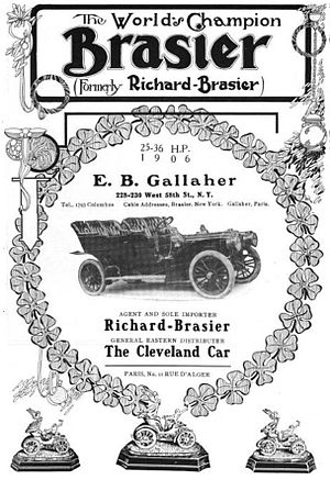 Richard-Brasier - Brasier - 1906 model
