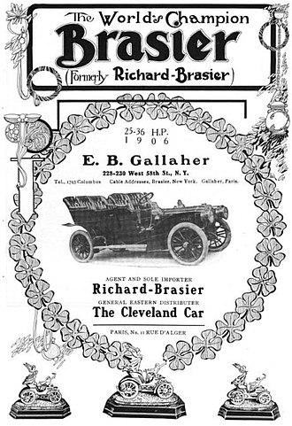 Richard-Brasier - Brasier - 1906 model