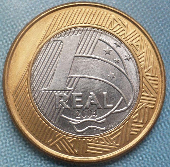 Brasil coin 1 real