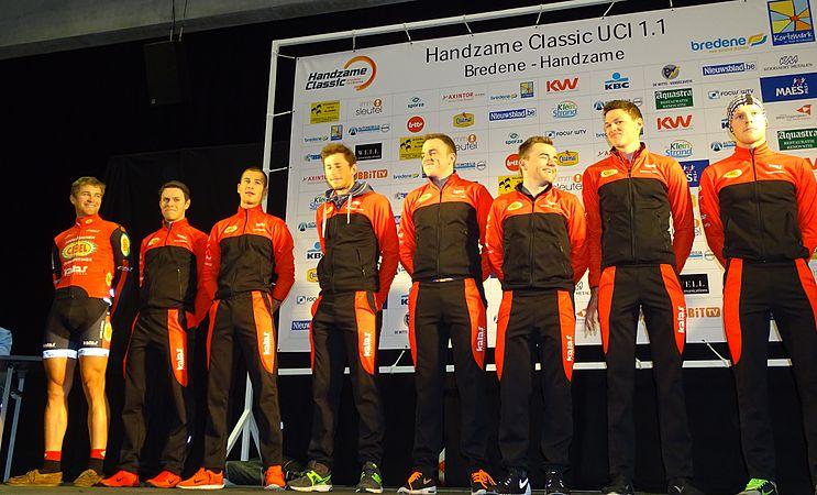 Bredene - Handzame Classic, 20 maart 2015, vertrek (B044).JPG