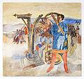 Bregenz, Kommandogebäude Oberst Bilgeri, Fresken von Martin Häusle-05.jpg