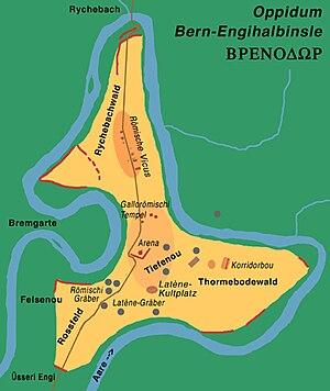 Canton of Bern - Helveto-Roman settlement Bern-Engehalbinsel