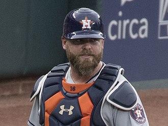 Brian McCann (baseball) - Brian McCann with the Houston Astros in 2017