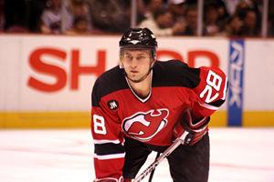 Brian Rafalski - Rafalski on the New Jersey Devils