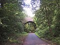 Bridge Carrying Castle Lane over Cycleway 2 (viewed from the east) - geograph.org.uk - 953674.jpg