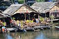 Bridge on the River Kwai - floating market 3.JPG