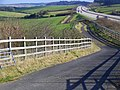 Bridleway beside the A35(T) - geograph.org.uk - 1176363.jpg