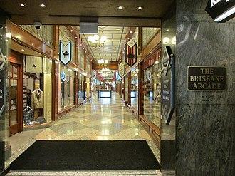 Brisbane Arcade - Image: Brisbane CBD brisbane arcade
