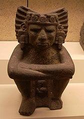 Estatua sedente de Xiuhtecuhtli